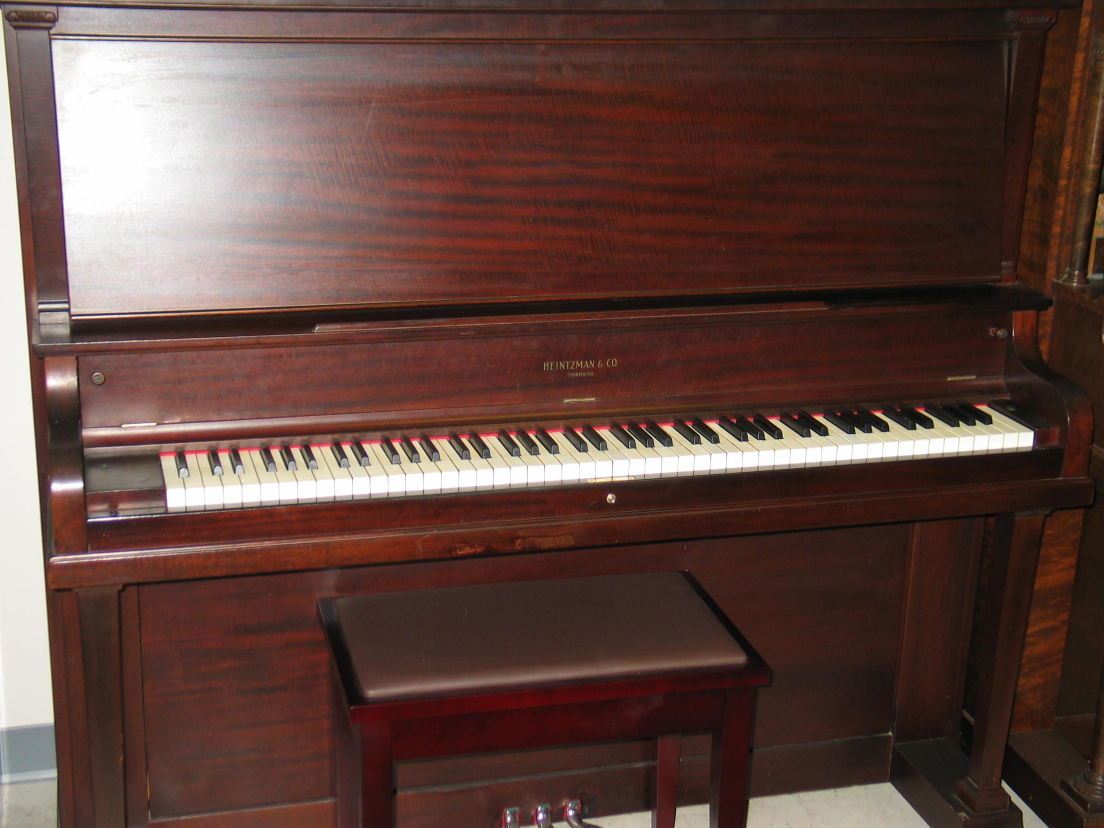 Allison piano heintzman for Smallest piano size