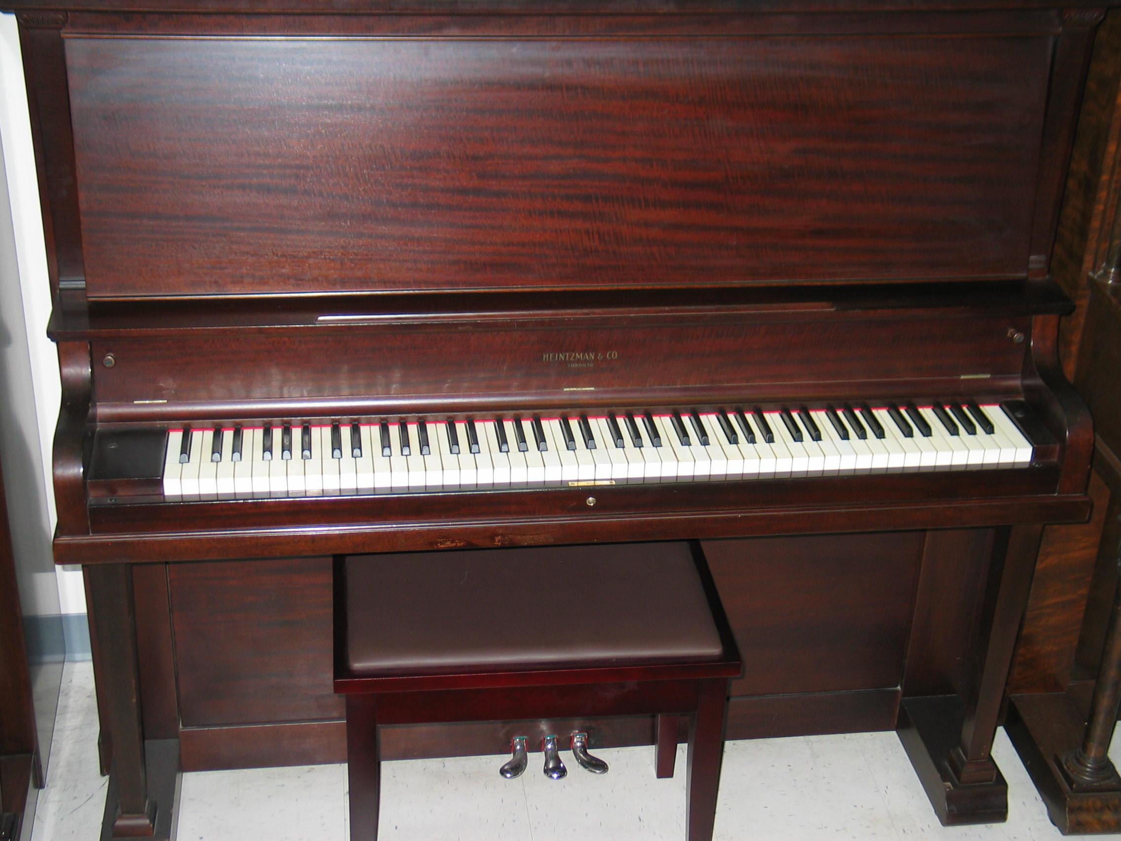 Allison piano heintzman for Small size piano